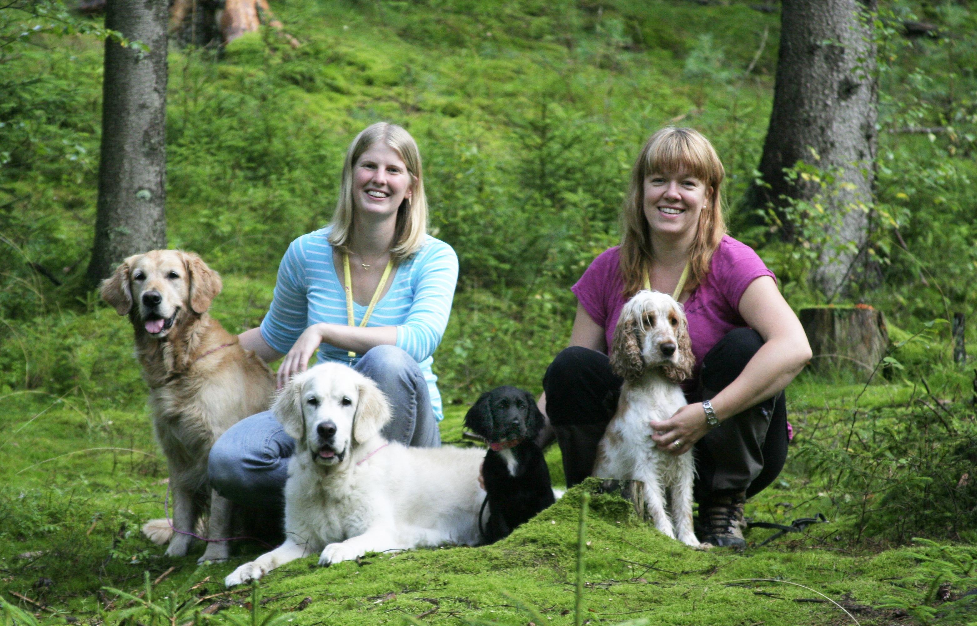 Pressrelease: De utmanar hundsverige med unik bok om positiv jaktträning