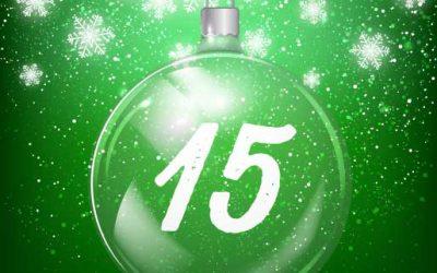 Julkalender lucka 15: Effektiva belöningar