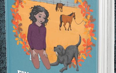 Andra boken om häst- och hundtjejen Ellinor