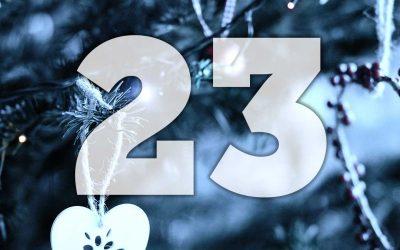 Julkalender lucka 23: Spela rallybingo!