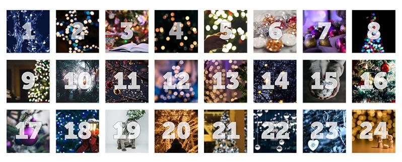 Klickerförlagets julkalender 2018